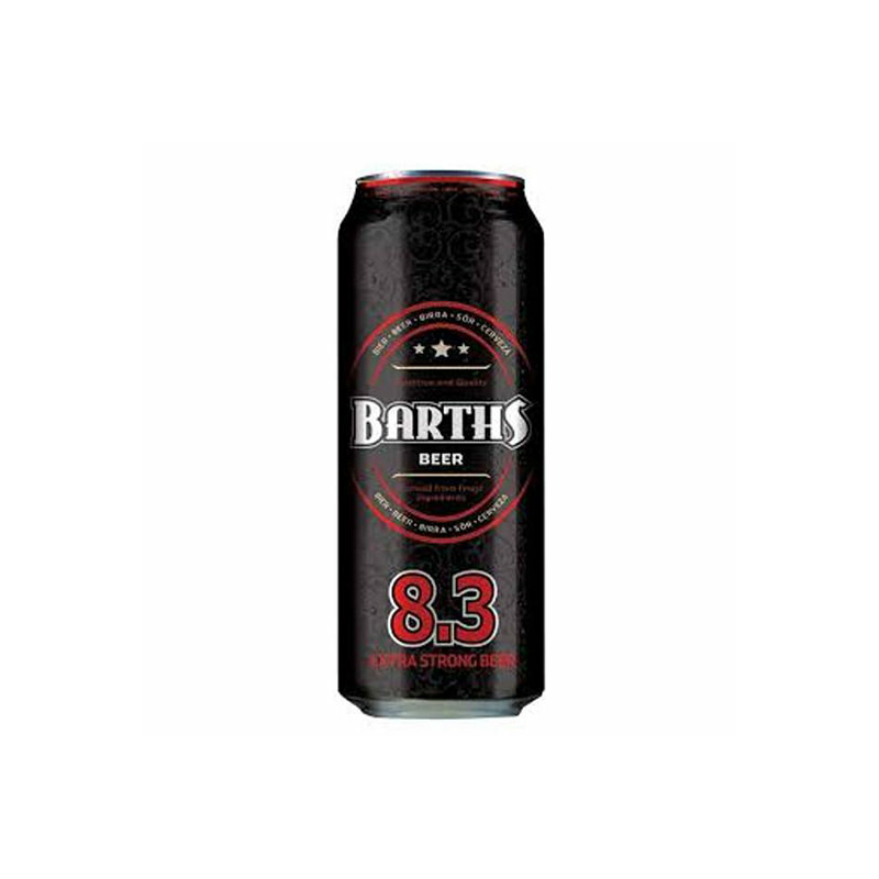 Barths Extra Strong dobozos sör